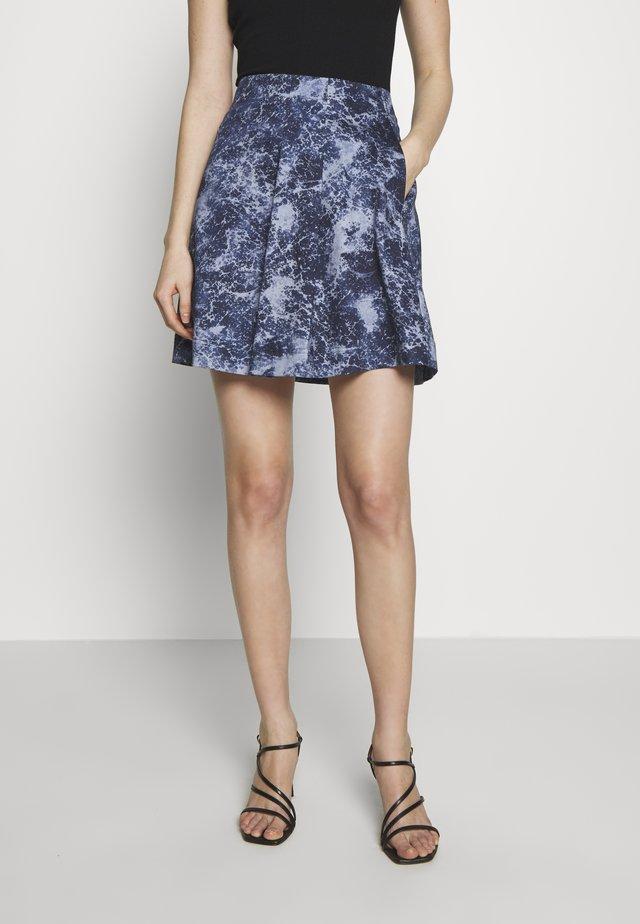 PATRONO - Áčková sukně - cornflower blue