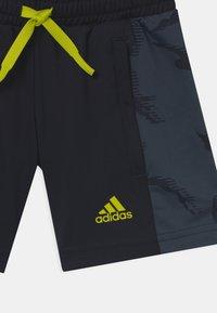 adidas Performance - UNISEX - Pantaloncini sportivi - legend ink/acid yellow - 2