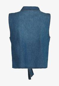 JDY - JDYSAINT LIFE - Camisa - medium blue denim - 1