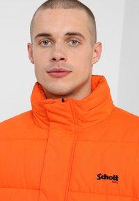 Schott - NEBRASKA - Winter jacket - orange - 5