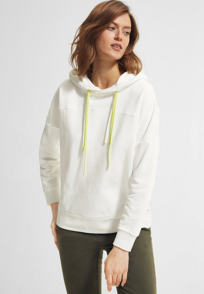 comma casual identity - Hoodie - offwhite