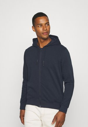 Sweater met rits - dark navy