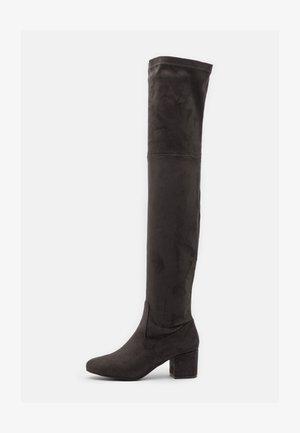 Høye støvler - dark grey