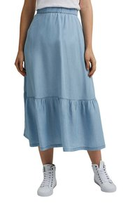 edc by Esprit - A-line skirt - blue light washed - 3