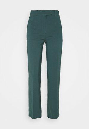 NOORA - Trousers - scarab green