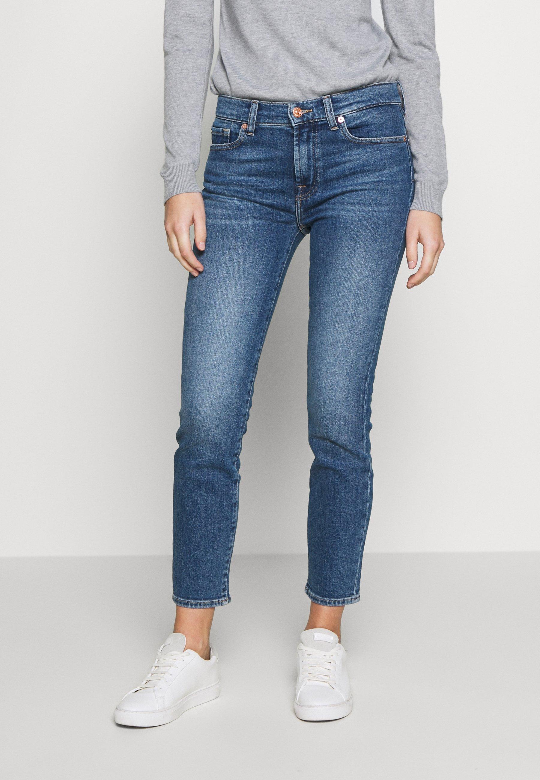 Women ROXANNE ANKLE - Straight leg jeans