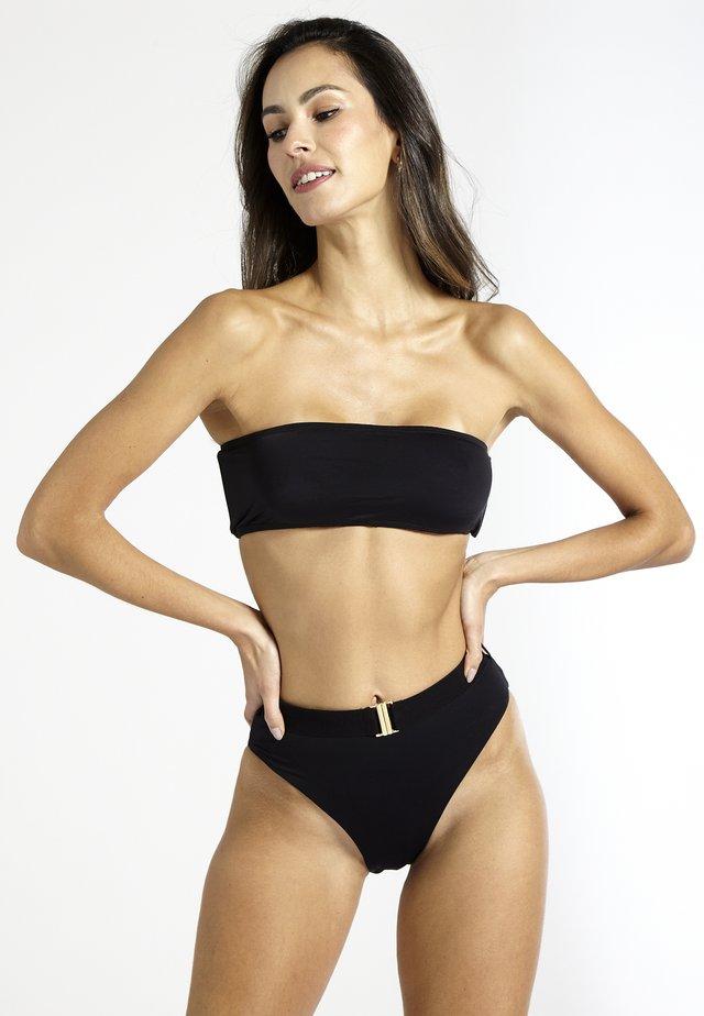 STRAPLESS - Bikini top - black