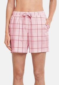 Schiesser - Pyjama bottoms - rosa gemustert - 0