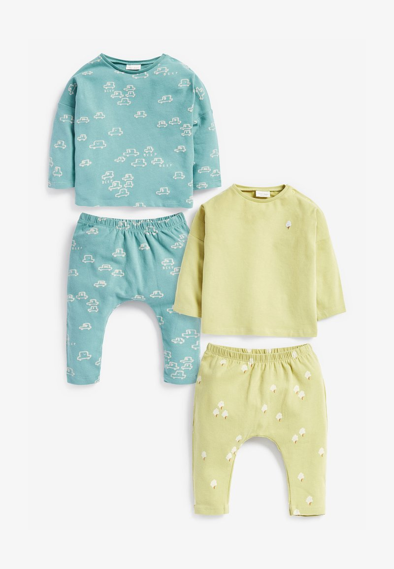 Next - SET - Leggings - Trousers - green