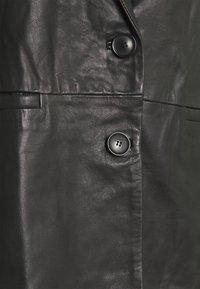 Part Two - FAISA - Leather jacket - black - 2