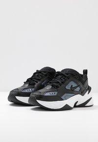 Nike Sportswear - TEKNO  - Trainers - black/metalic hematite/summit white - 4