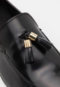 Zign - Elegantní nazouvací boty - black - 5