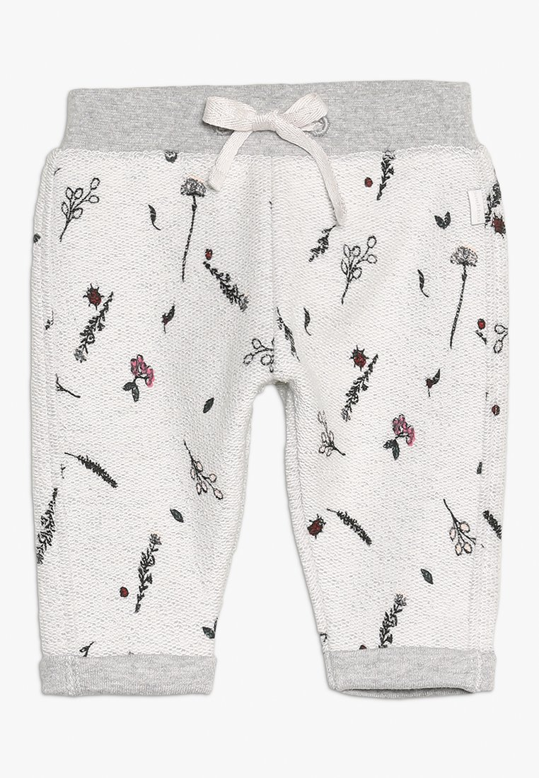 Noppies - PANTS REGULAR CALEDONIA BABY - Teplákové kalhoty - grey melange