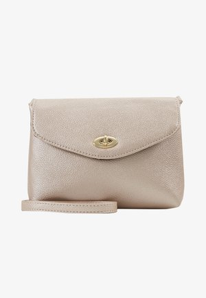 TWIST LOCK XBODY - Borsa a tracolla - rose gold-coloured