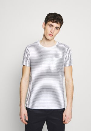 WILLIAMS - T-shirt imprimé - black/white