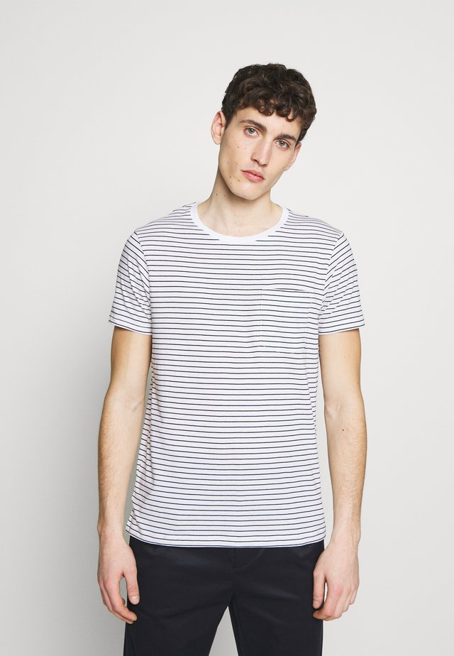 WILLIAMS - T-shirts med print - black/white