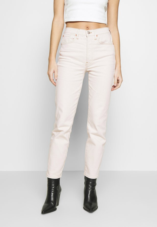CLAUDIA SLIM - Slim fit jeans - pale stone