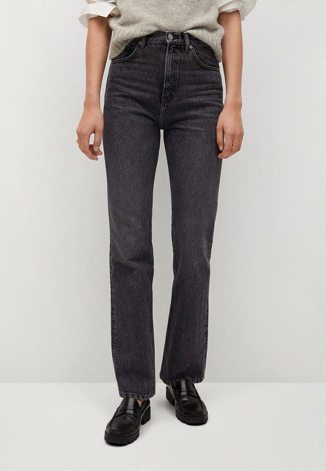 VINTAGE - Flared jeans - gris