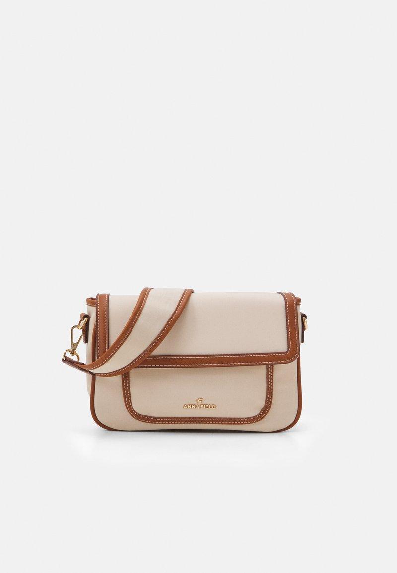 Anna Field - Across body bag - beige/cognac