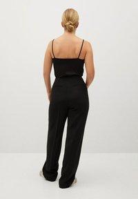 Violeta by Mango - BIMBA8 - Spodnie materiałowe - schwarz - 2