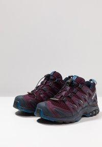 Salomon - XA PRO 3D - Trail running shoes - potent purple/navy blazer/bluestone - 2