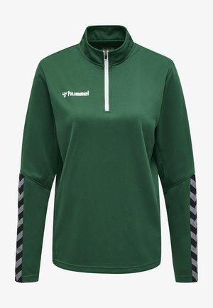 HMLAUTHENTIC  - Sweater - evergreen