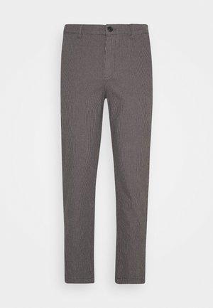 SLHSLIMTAPERED OREGON ANK PANTS - Pantalon classique - grey