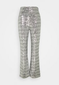 4th & Reckless - CHELSEA TROUSER - Trousers - silver - 0