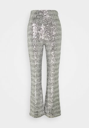 CHELSEA TROUSER - Trousers - silver