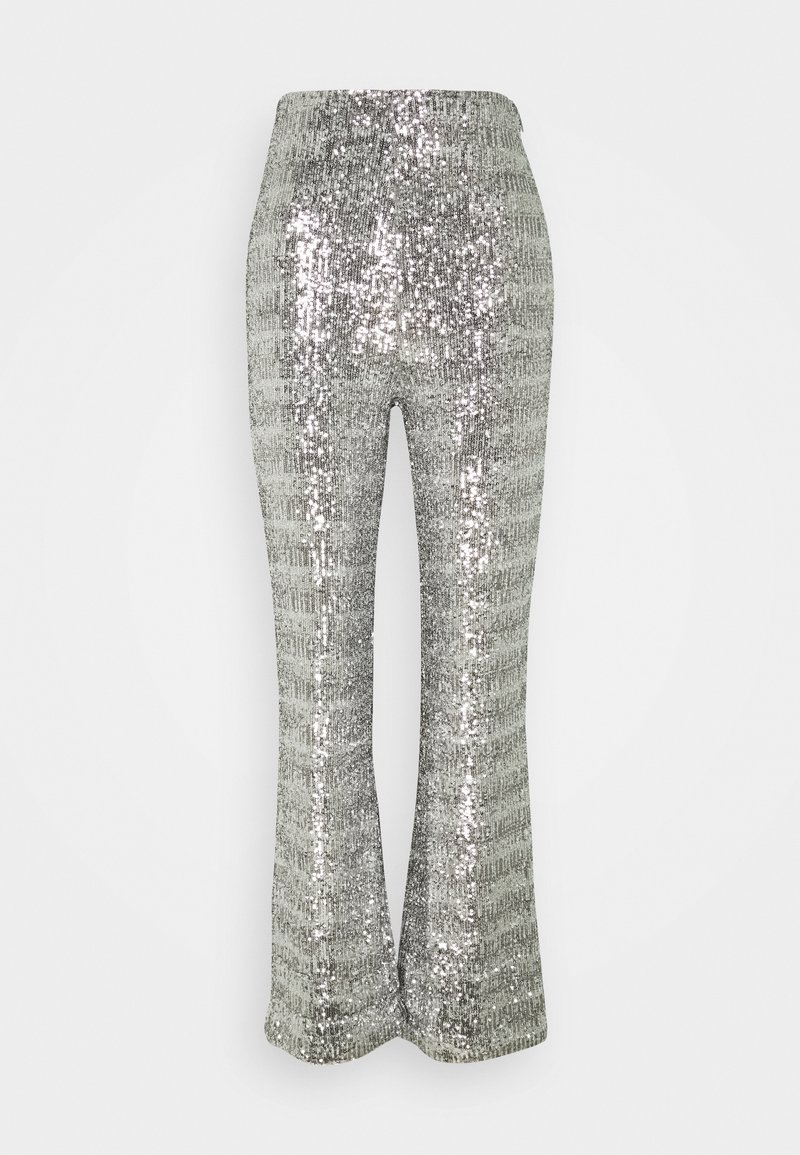 4th & Reckless - CHELSEA TROUSER - Trousers - silver