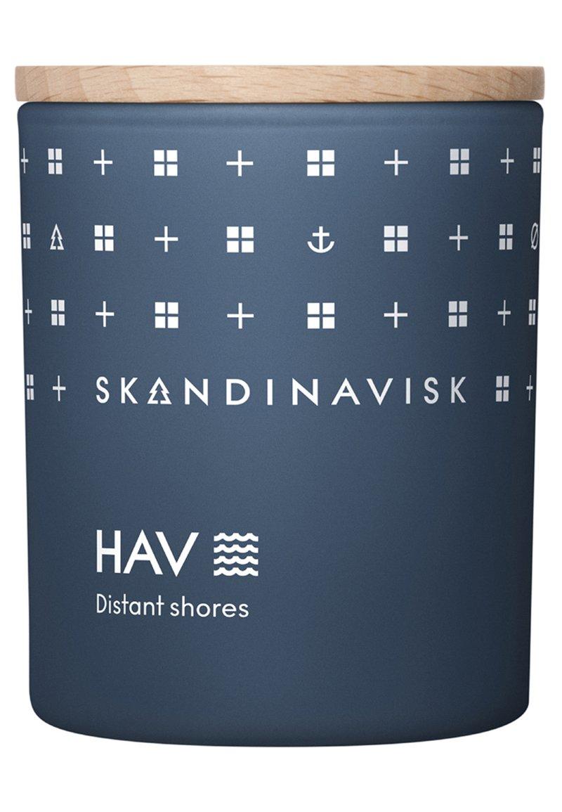 Skandinavisk - SCENTED CANDLE WITH LID - Duftkerze - hav