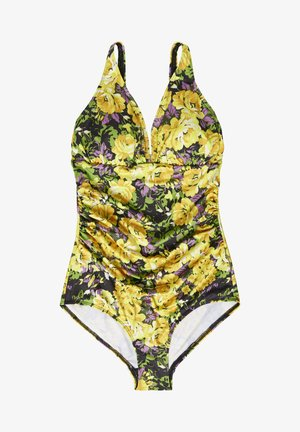 ARTYGZ - Swimsuit - yellow flower garden