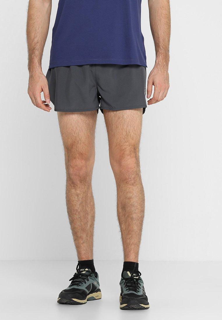 Men SILVER SPLIT SHORT - Sports shorts