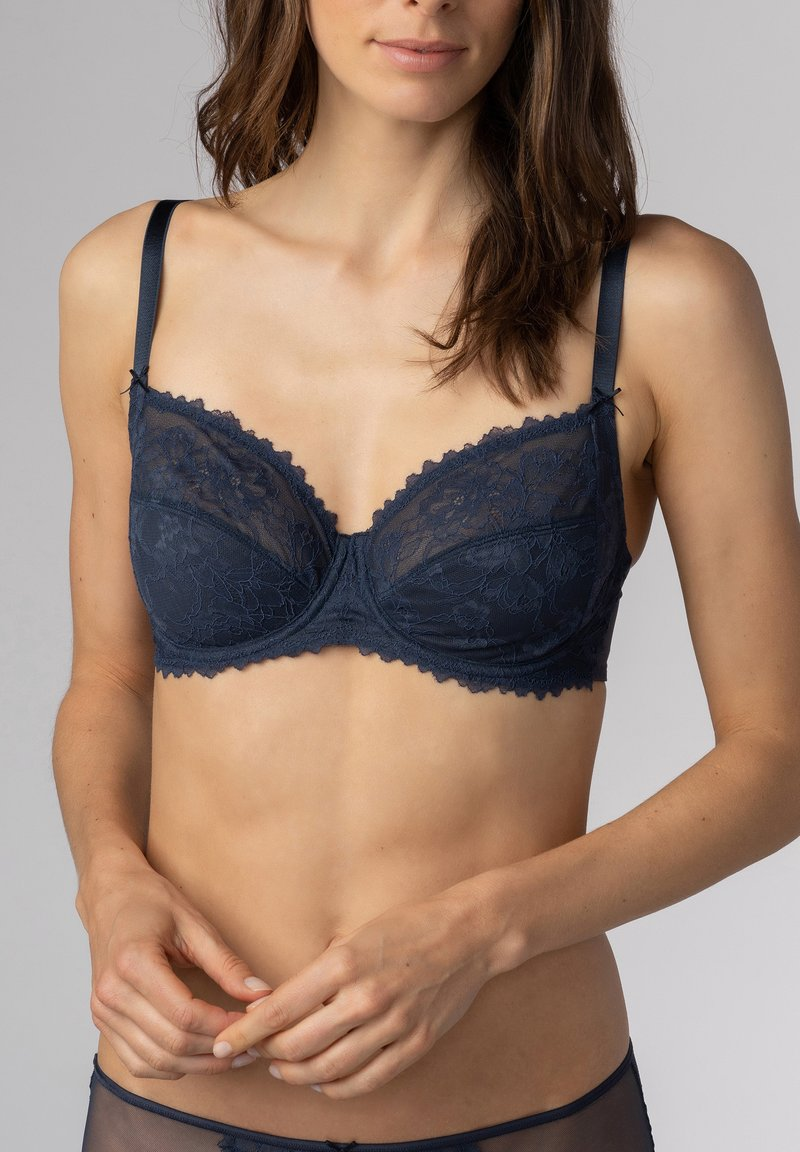 mey - SERIE FABULOUS - Underwired bra - graphite