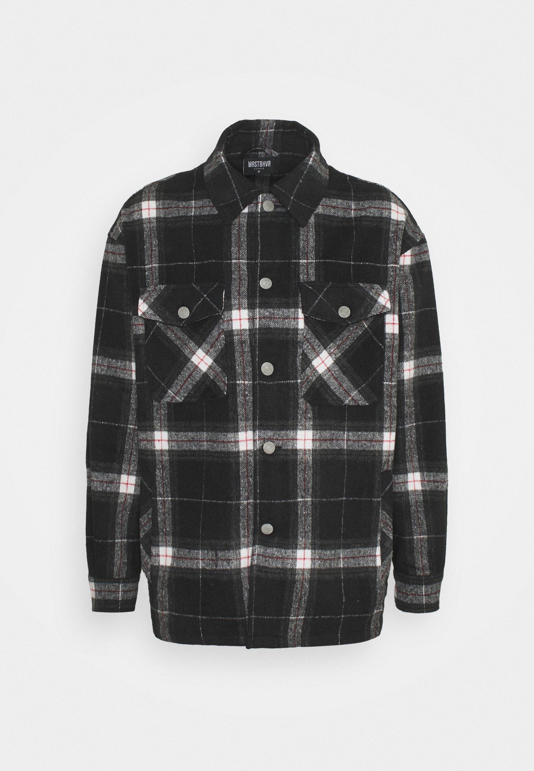 Men BOO CHECKED UNISEX - Summer jacket