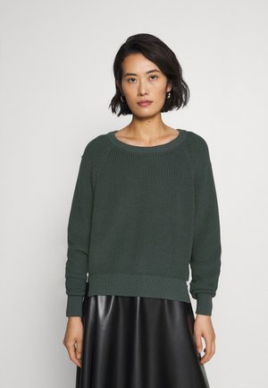 TINDRA - Strickpullover - dark dusty khaki