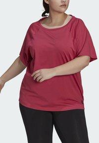 adidas Performance - W TE TEE PB - T-shirts - pink - 3