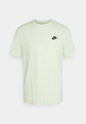 CLUB TEE - T-shirt - bas - lime ice/black