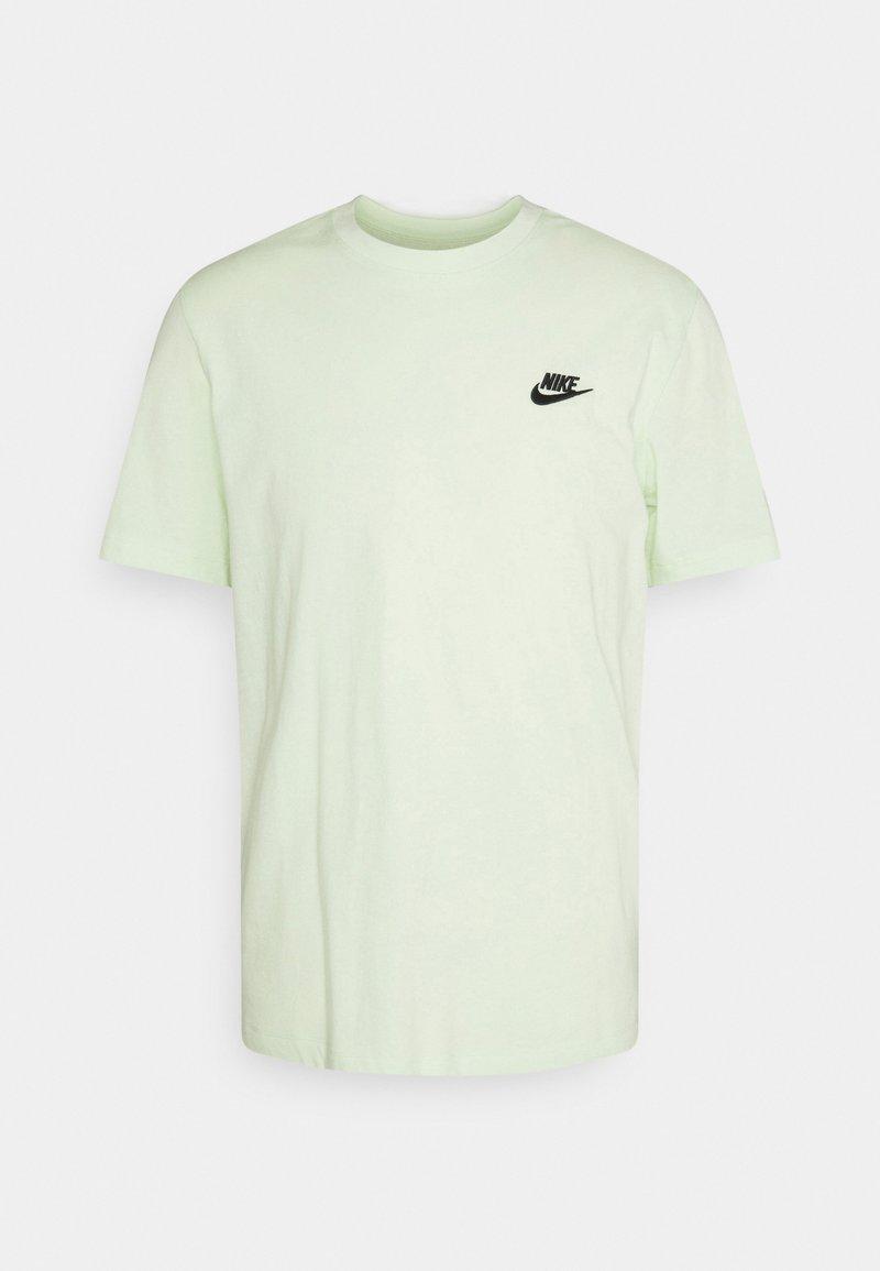 Nike Sportswear - CLUB TEE - T-shirt - bas - lime ice/black