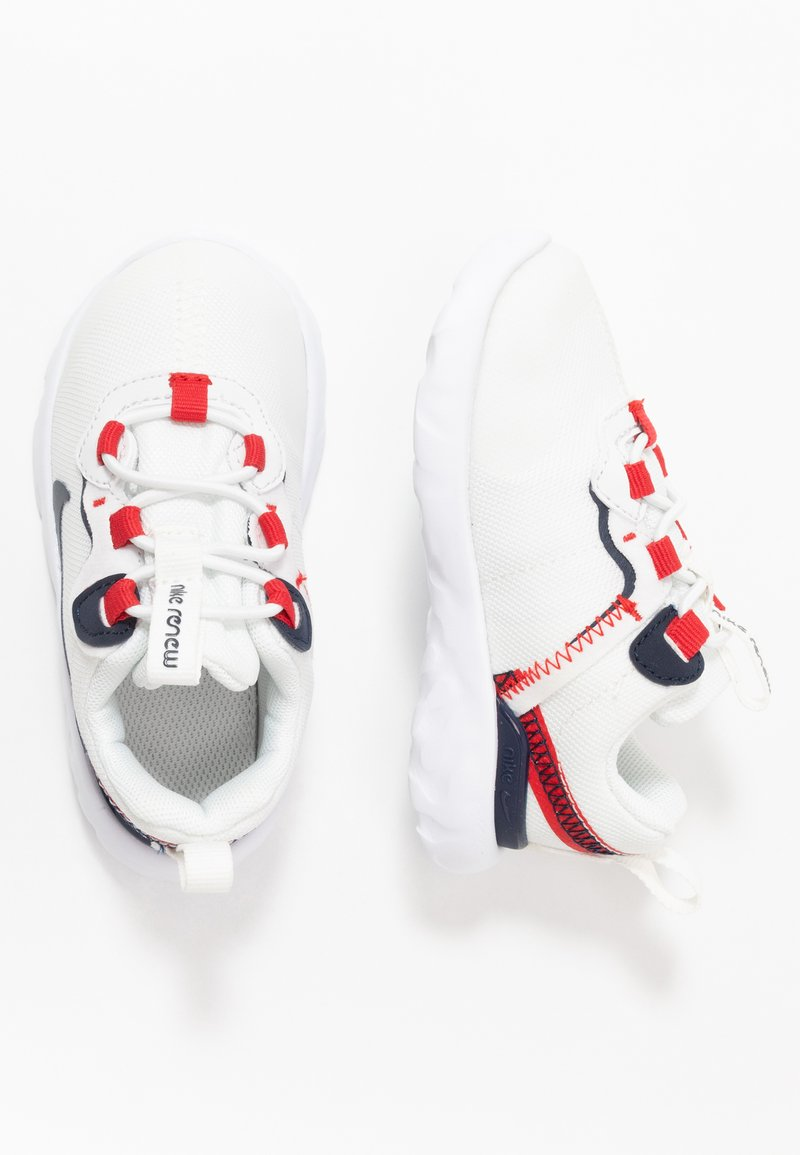 Nike Sportswear - RENEW 55 - Sneakers laag - summit white/obsidian/university red/platinum tint