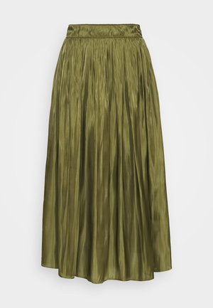 KURZ - A-line skirt - deep green