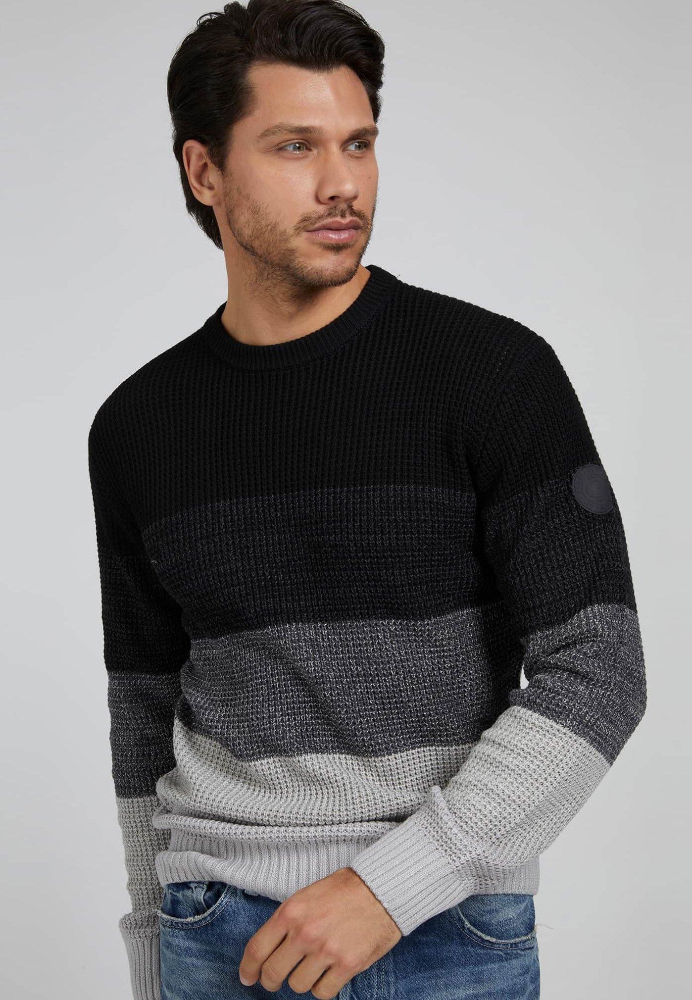 Homme GESTREIFTER  - Pullover