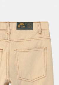 TINYCOTTONS - UNISEX - Relaxed fit jeans - light cream - 2