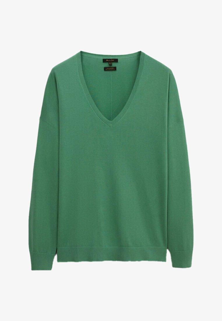 Massimo Dutti - Sweatshirt - turquoise