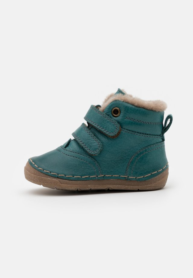 PAIX WINTER SHOES WIDE FIT UNISEX - Lära-gå-skor - petroleum