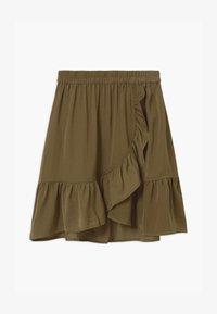 Rosemunde - Wrap skirt - military olive - 0