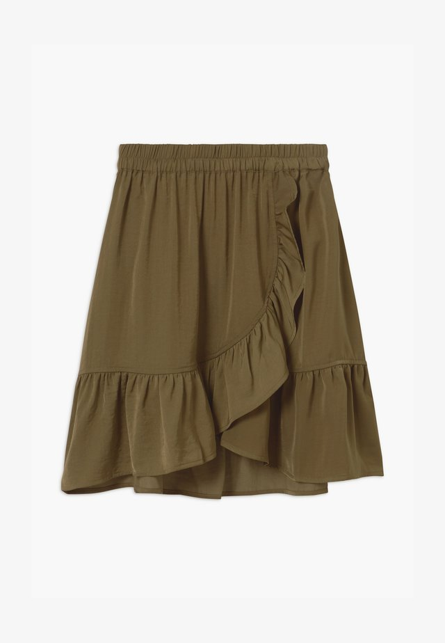 Wrap skirt - military olive