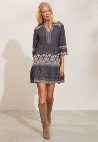 Odd Molly - LEILANI - Day dress - asphalt - 1