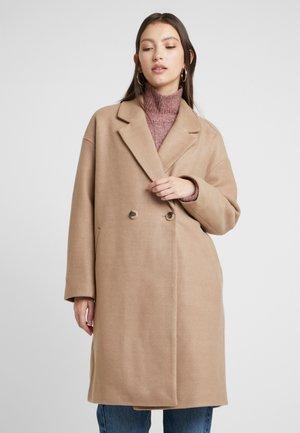Manteau classique - dusty camel