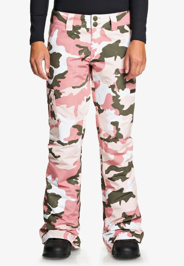 RECRUIT - Pantalon de ski - dusty rose wmn vintage camo